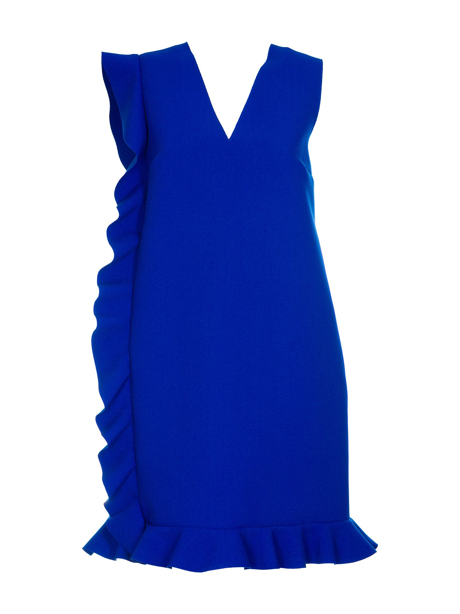 MSGM Ruffled Trim Dress
