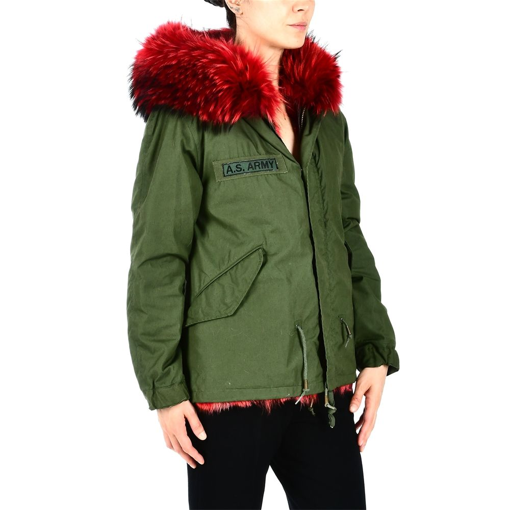 As65 Parka With Fur Lining