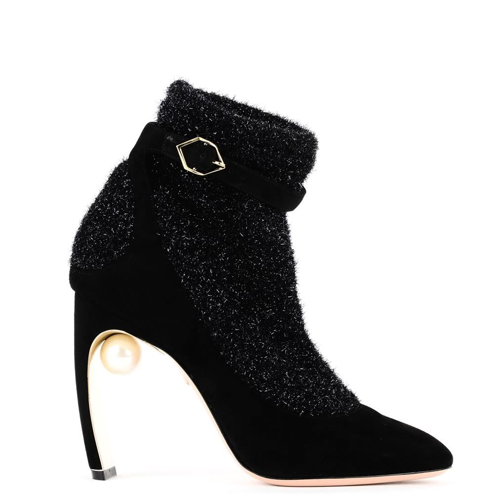 Nicholas Kirkwood Black Ankle Boots Boots