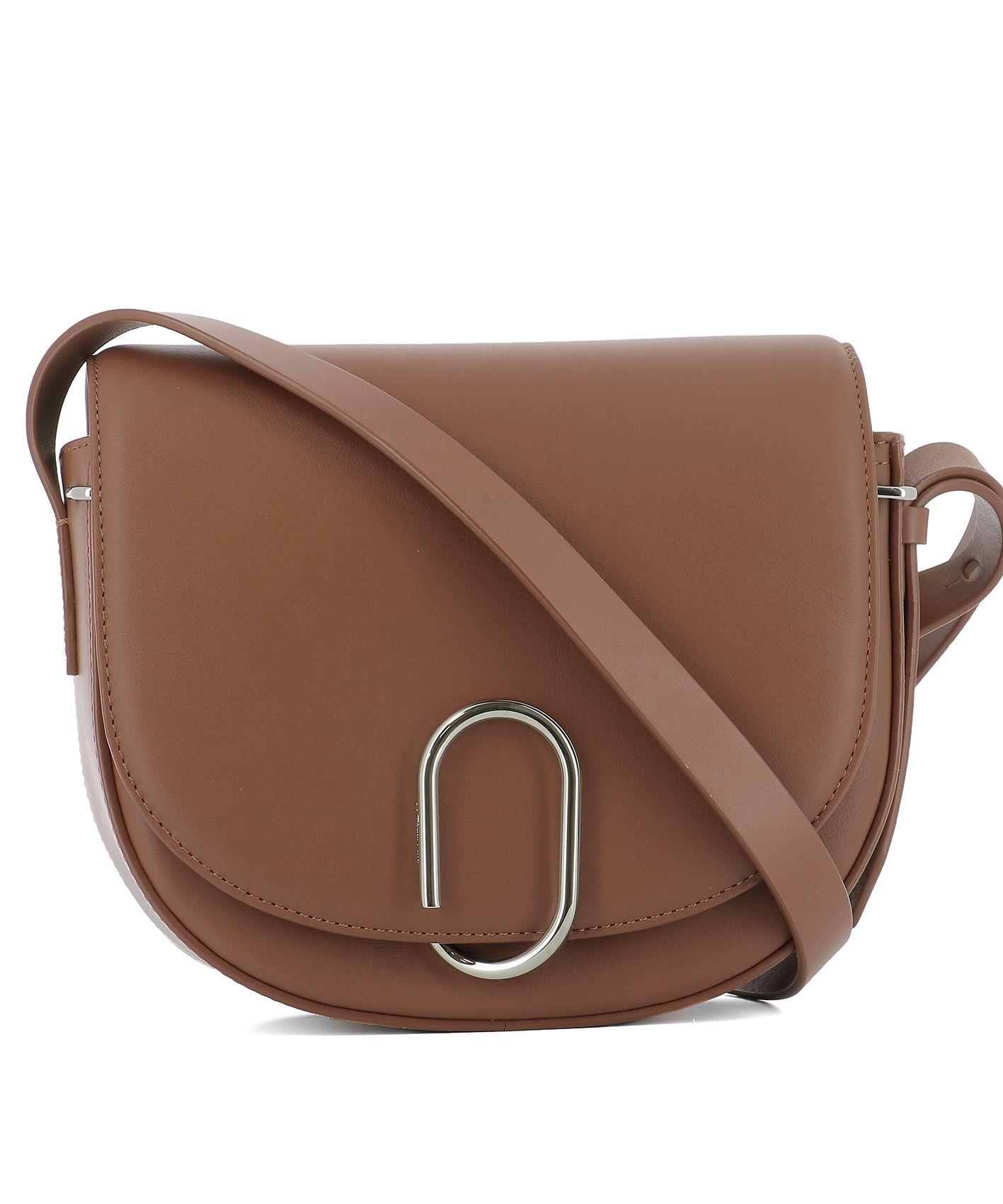 Brown Leather Shoulder Strap