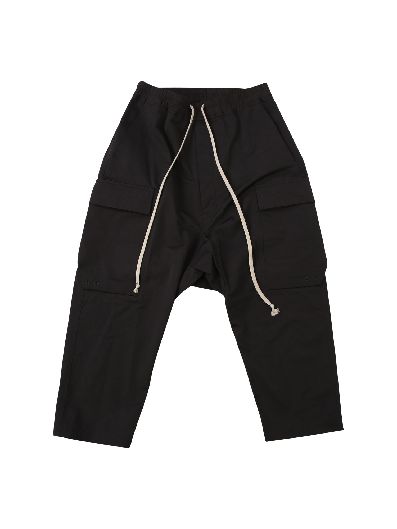 Nylon Low Crotch Cargo Trousers