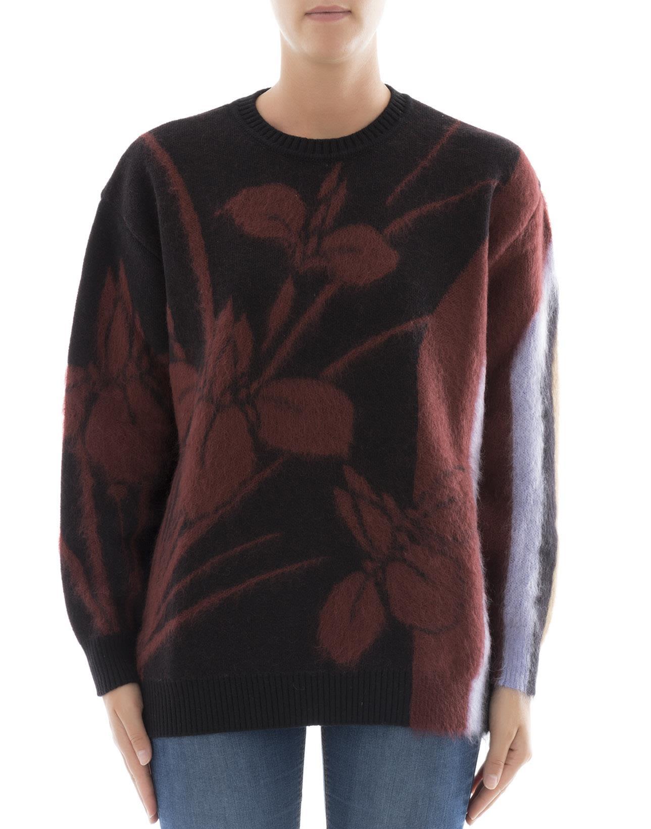 Black Mohair Sweatshirt