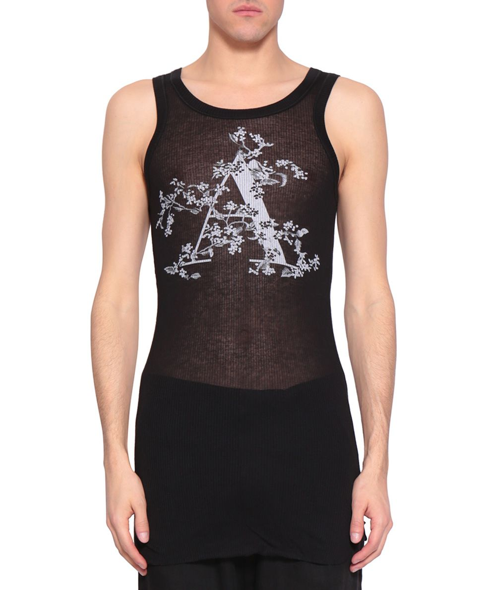 Ann Demeulemeester Cotton Tank Top