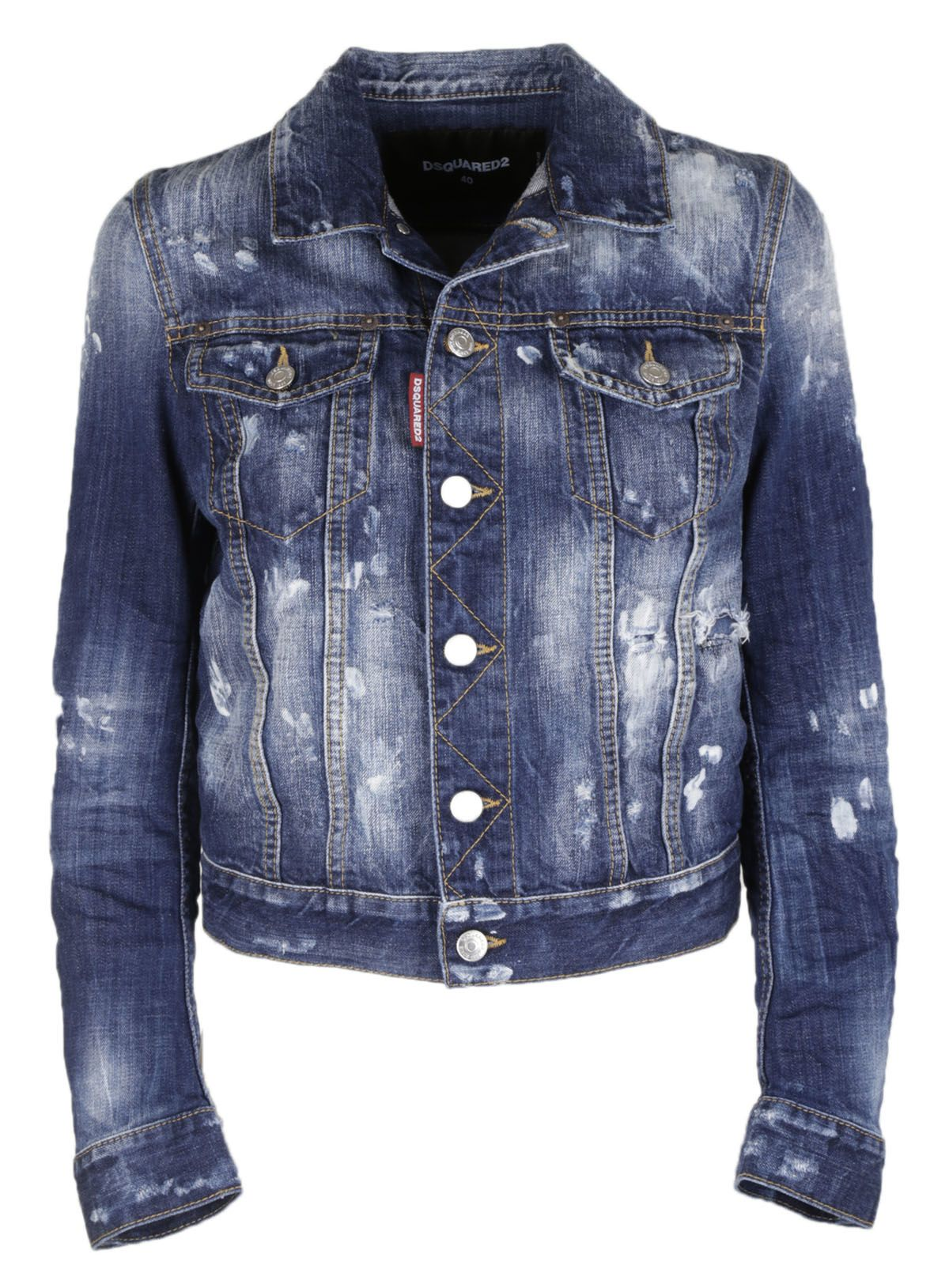 Dsquared2 Distressed Jean Jacket