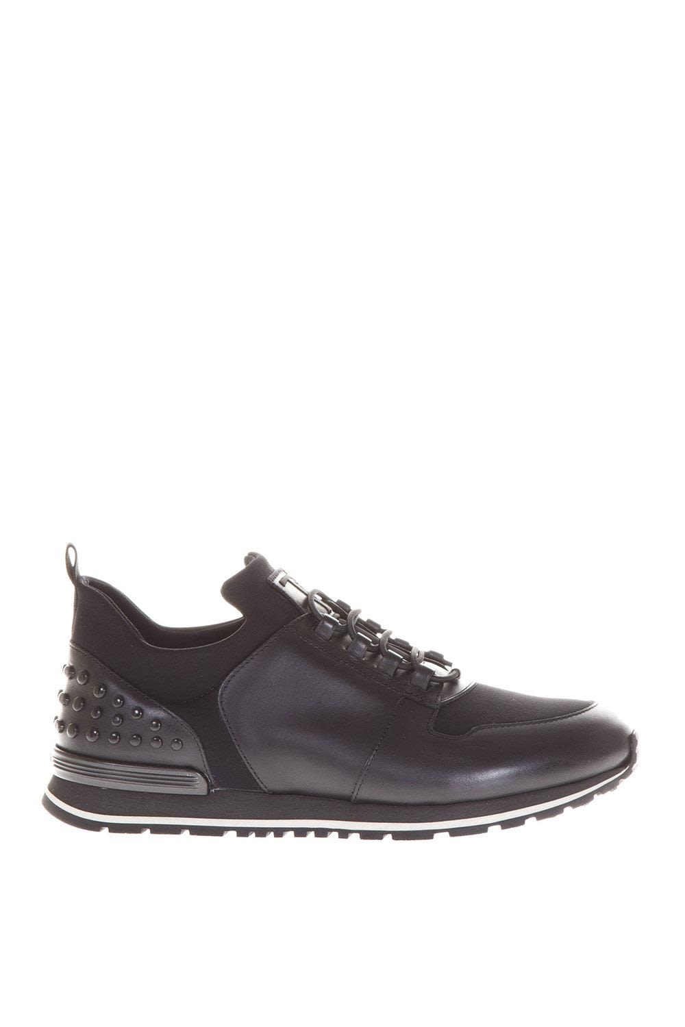 Tods Neoprene & Leather Sneakers