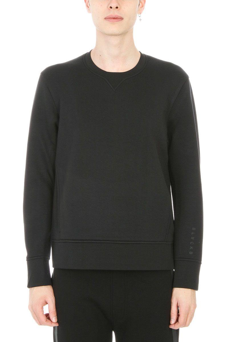 BlackBarrett by Neil Barrett Black Viscose Sweatshirt
