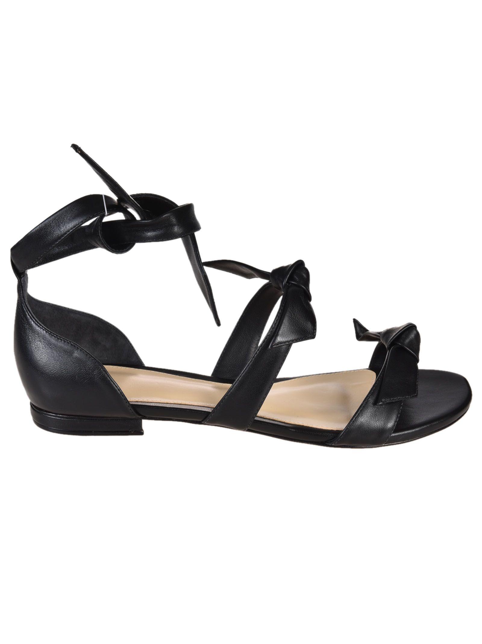 Alexandre Birman Bow Flat Sandals