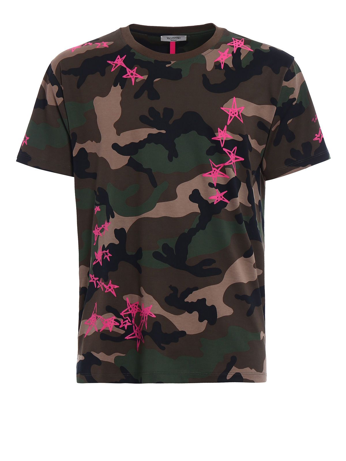 Valentino Camou Stars Zandra T-shirt