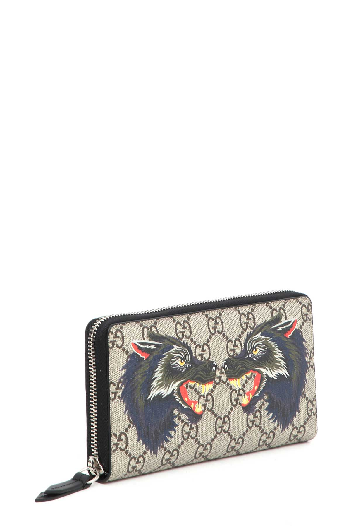ad1cf98473b GUCCI Wallet With Wolf Print