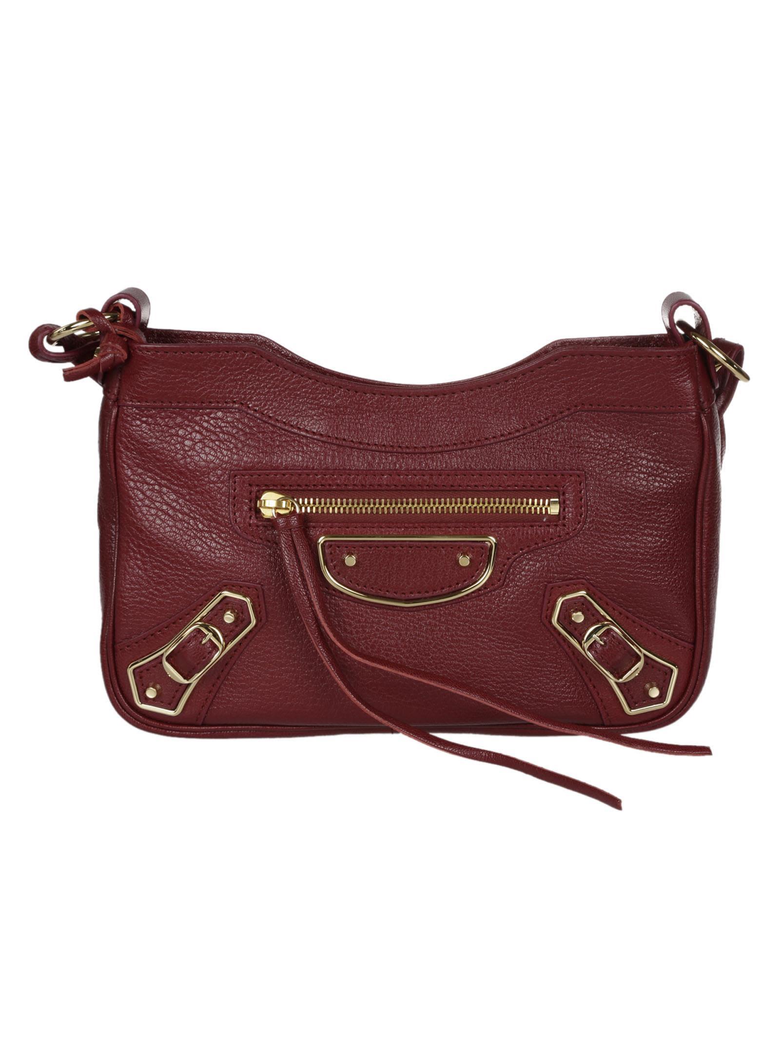 Balenciaga Mini Metallic Edge Hip Shoulder Bag