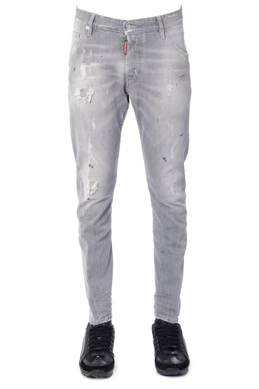 Dsquared2 Kenny Twist Cotton Denim Jeans