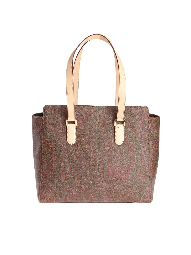 Etro Paisley Leather Bag