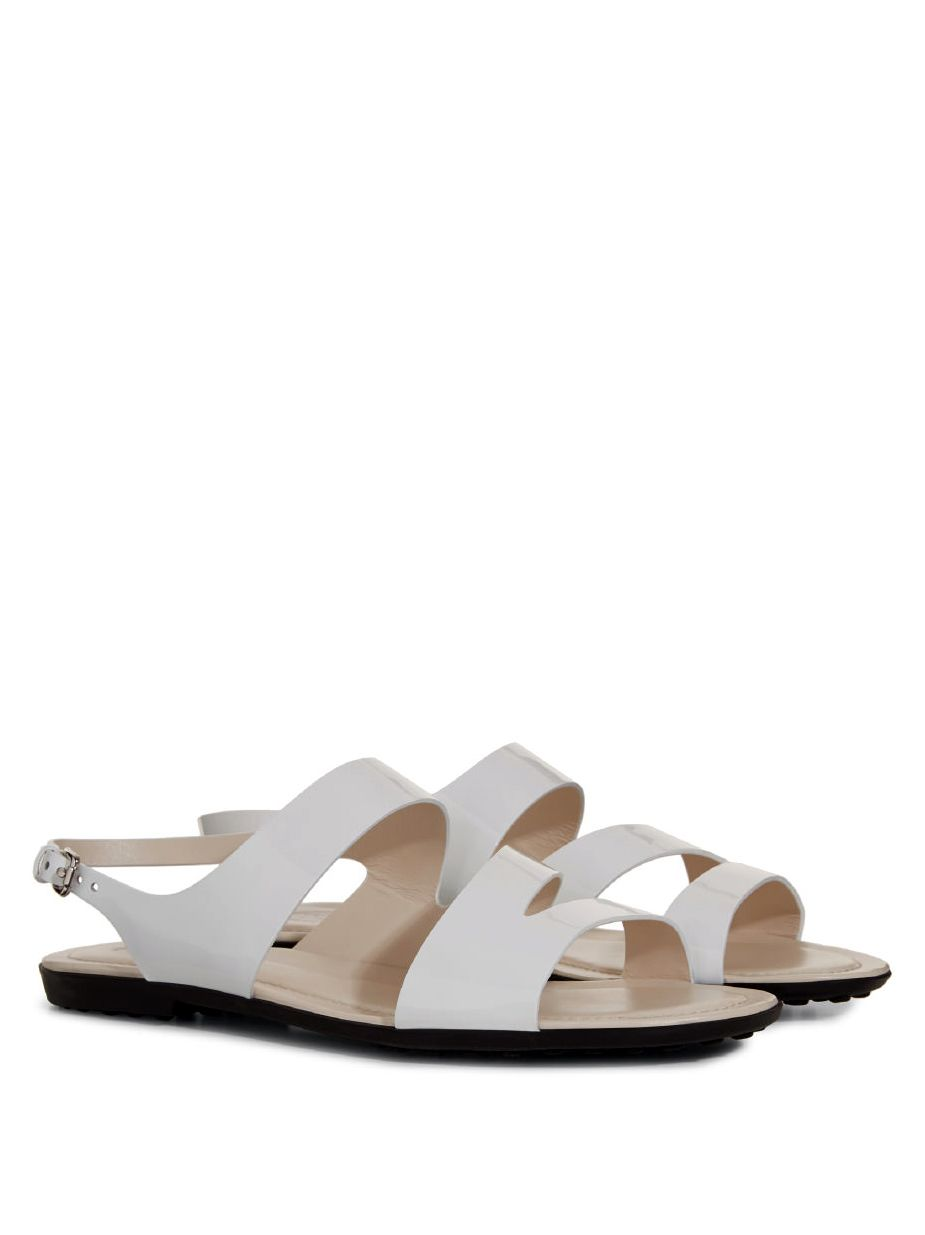 Sandal In Patent Leather