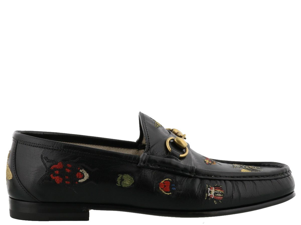 Gucci Embroidered Loafer