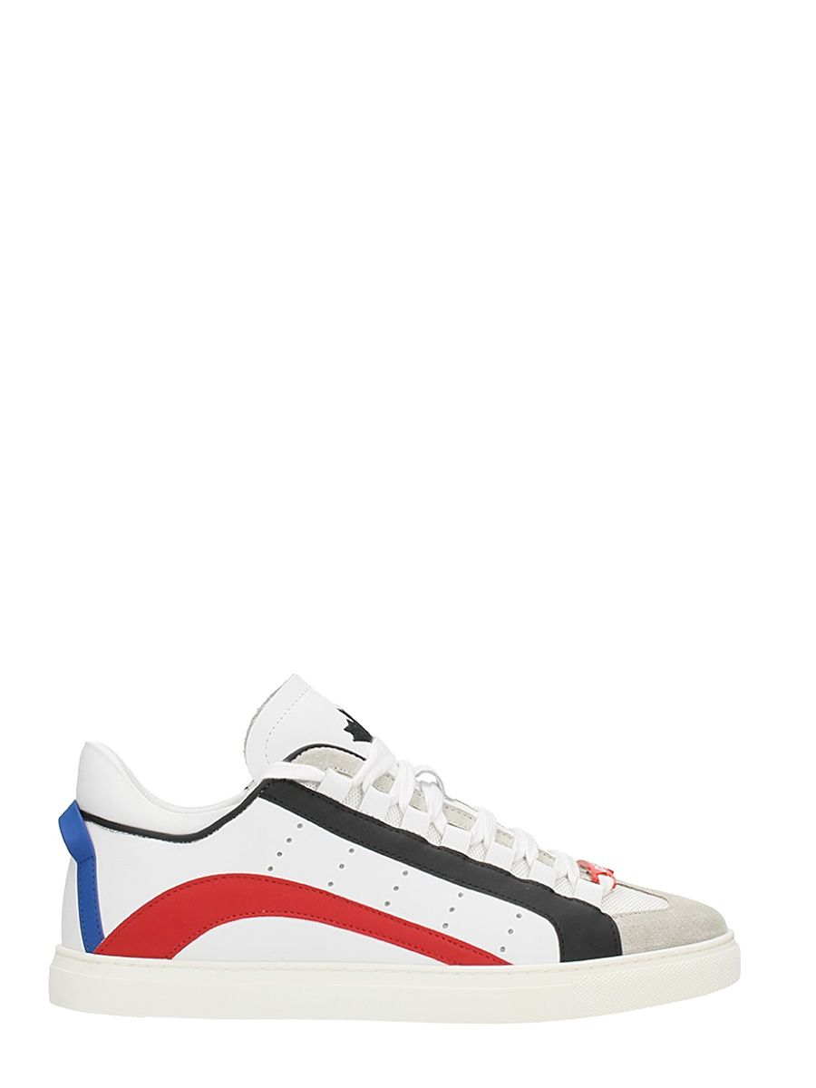 Dsquared2 New 551 White Leather Sneakers