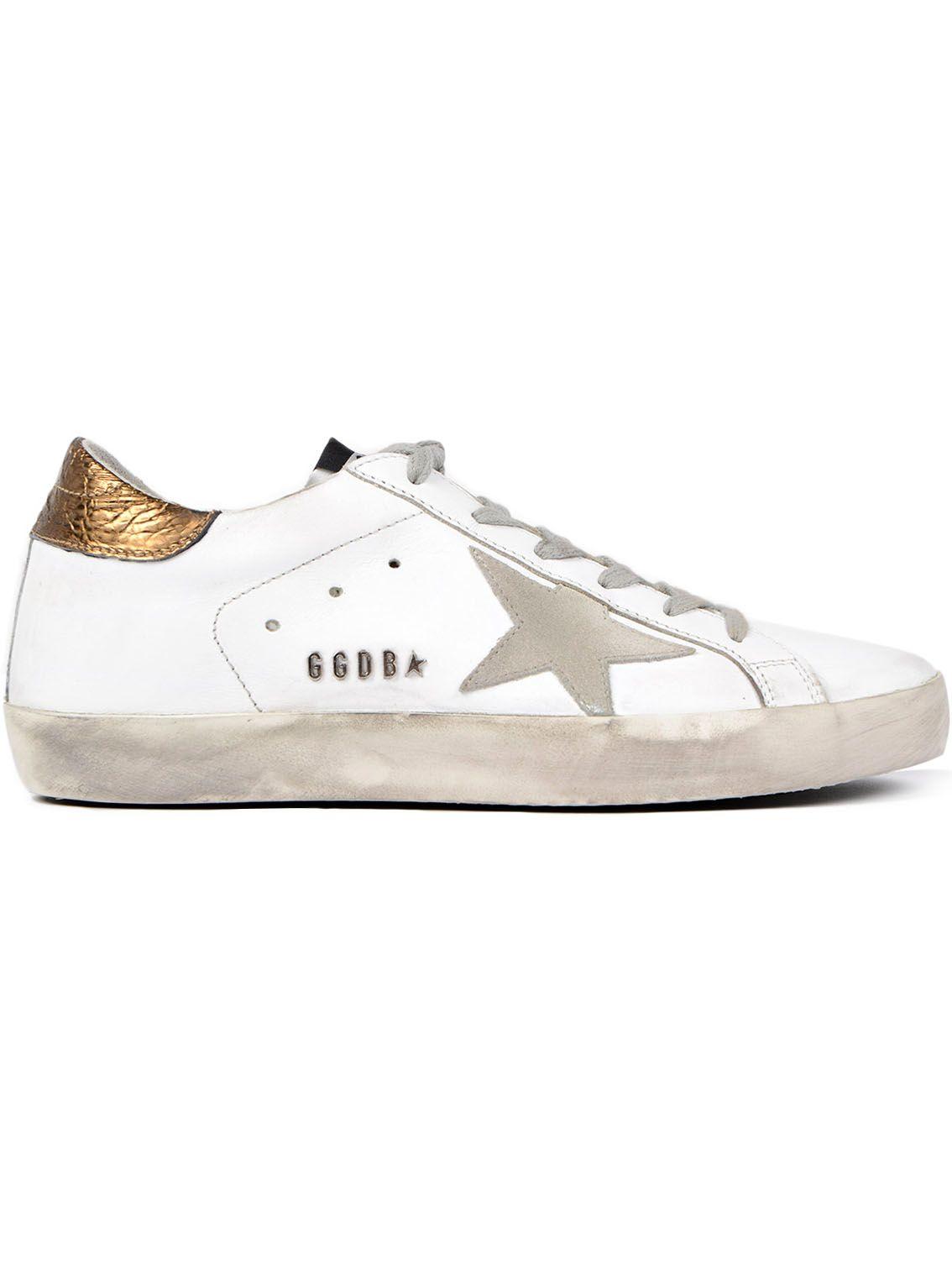 golden goose golden goose metallic superstar sneakers white women 39 s sneakers italist. Black Bedroom Furniture Sets. Home Design Ideas