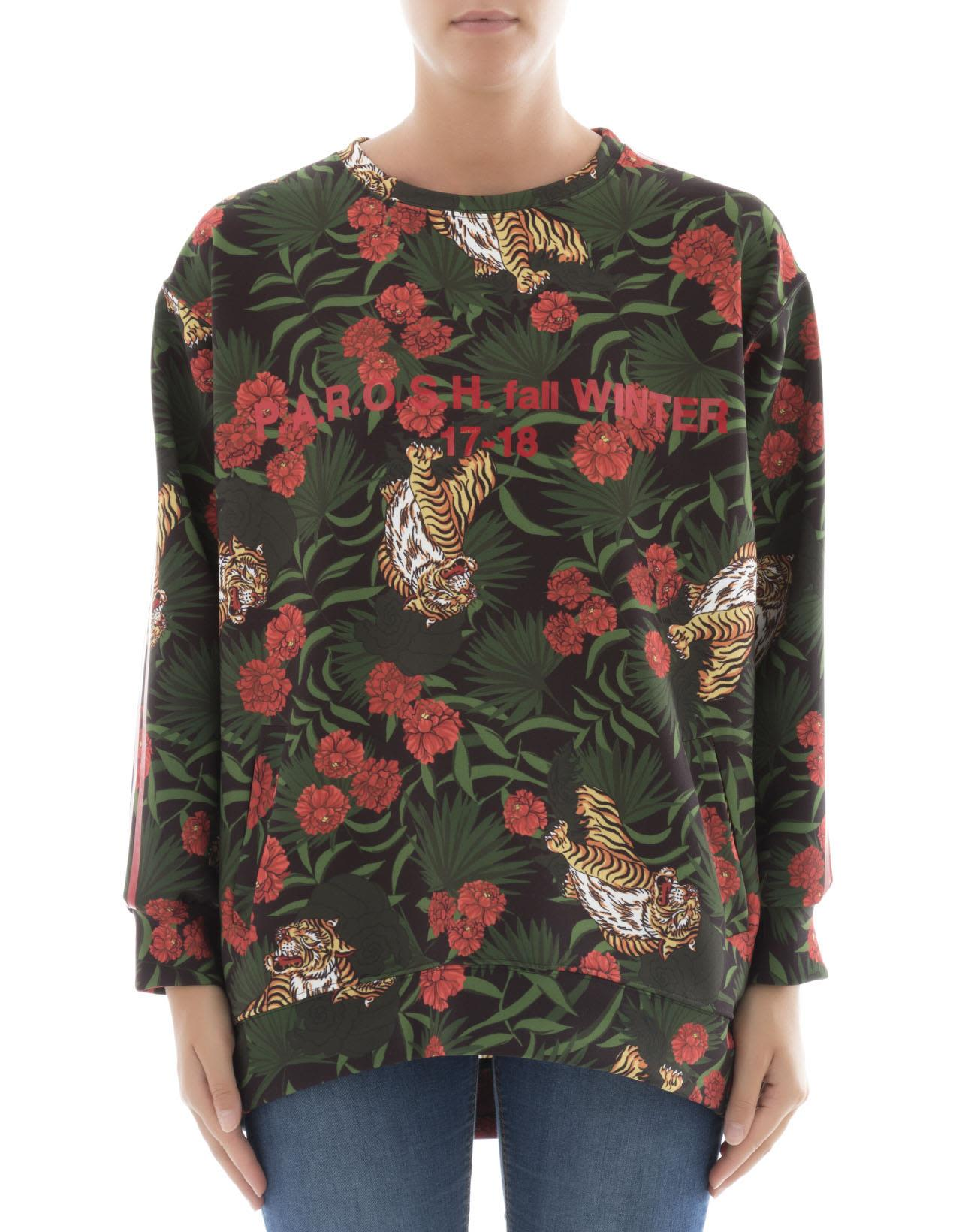 Multicolor Polyester Sweater
