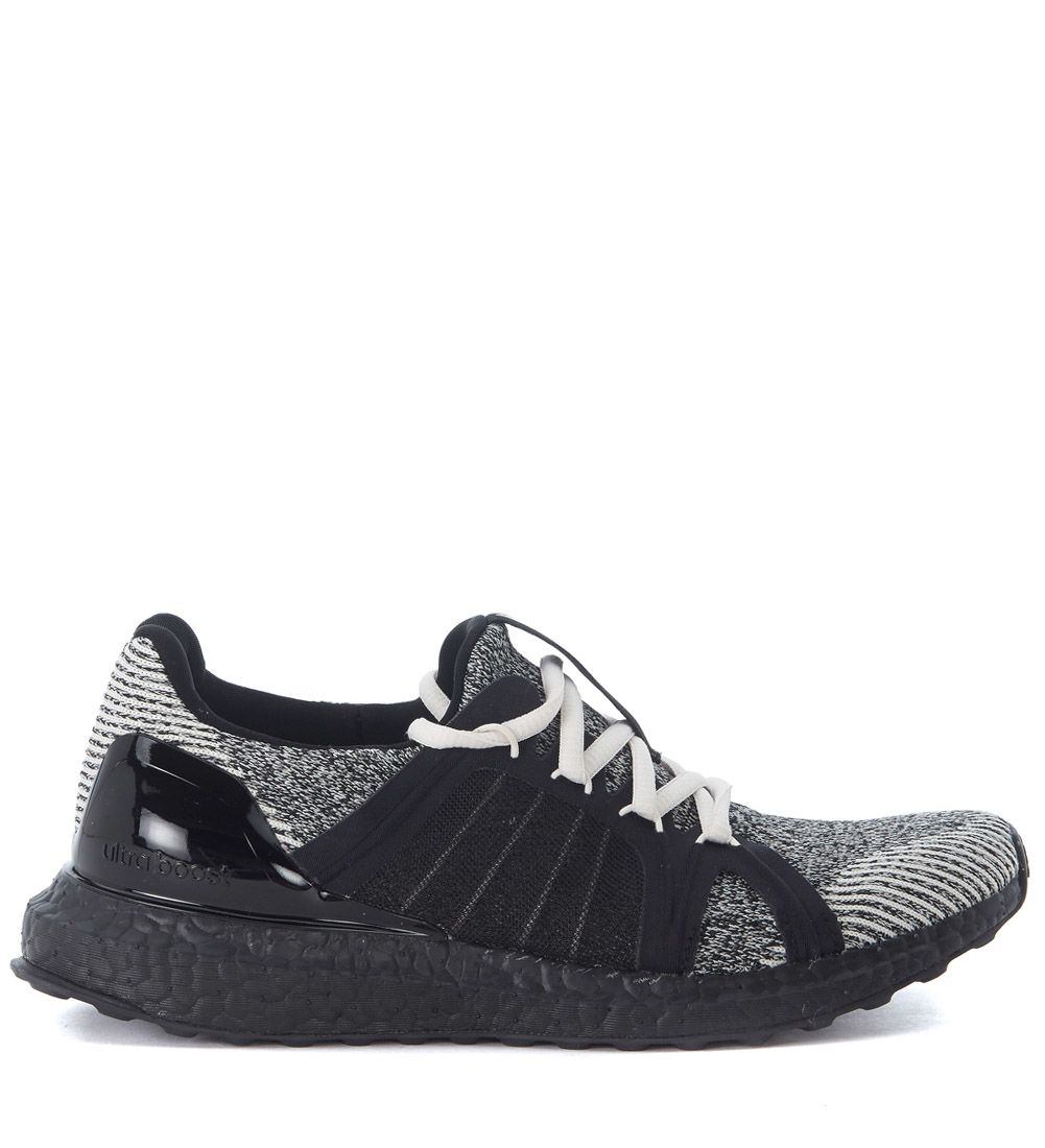 Adidas By Stella Mccartney Ultra Boost Black And White Sneaker