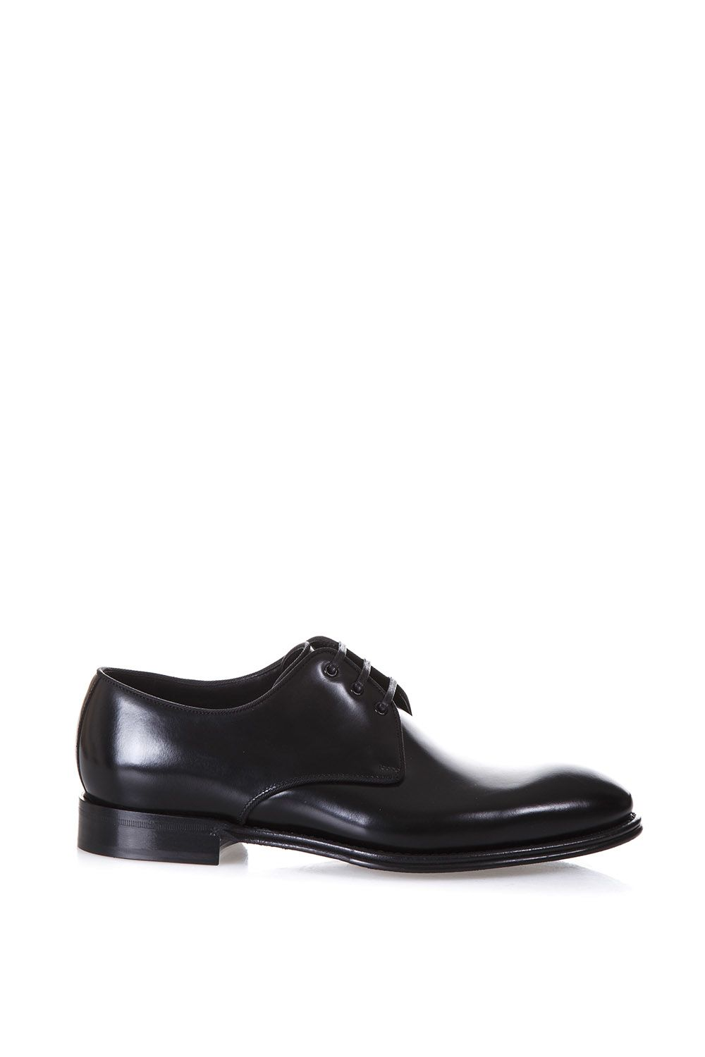 Dolce & Gabbana Brushed Leather Lace-up Shoes