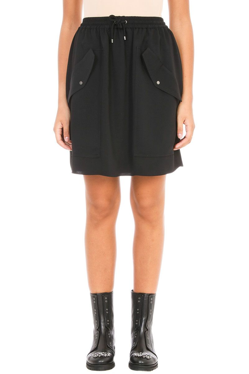 Kenzo Soft Crepe Skirt
