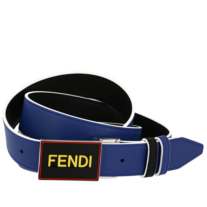 Fendi - Belt Belt Men Fendi - black 453e9efc5eab6