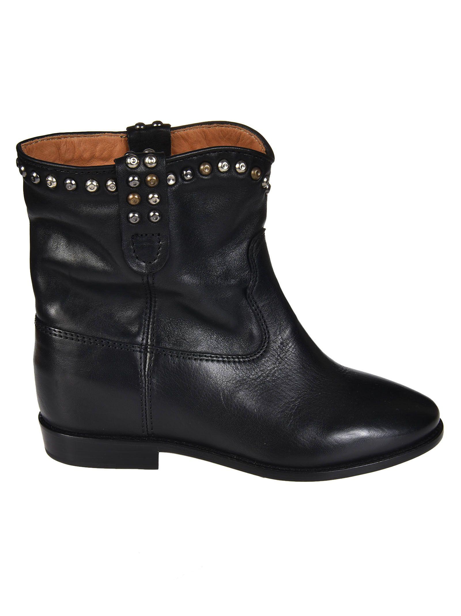 isabel marant isabel marant cluster boots black women 39 s boots italist. Black Bedroom Furniture Sets. Home Design Ideas