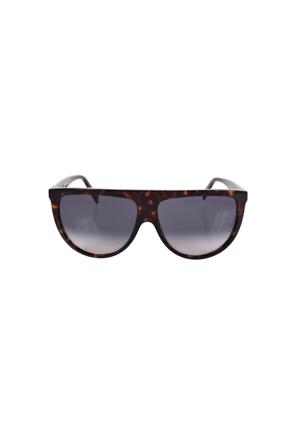 2c1cb0454ea Celine Thin Shadow Sunglasses In 19Dt Dark Havana