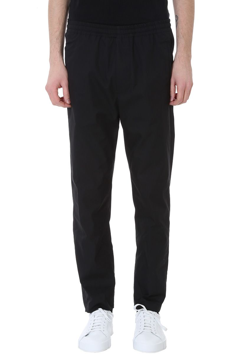 Mauro Grifoni Black Cotton Pants