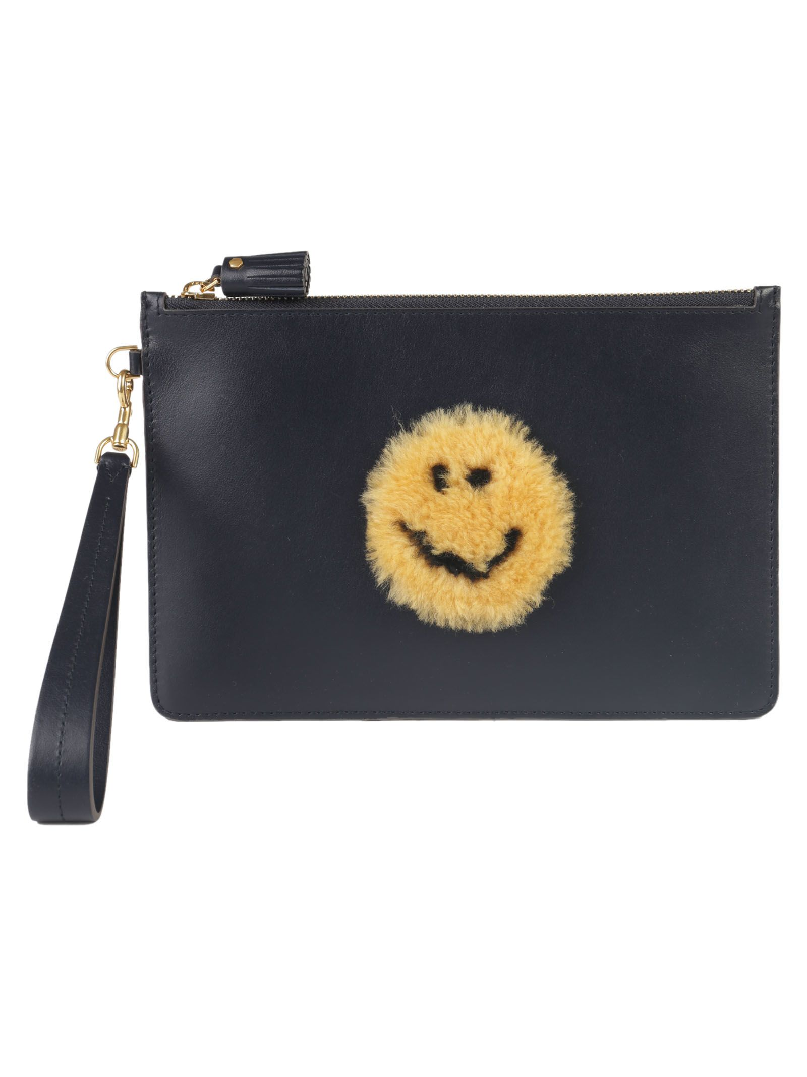 Anya Hindmarch Smiley Zip-top Pouch