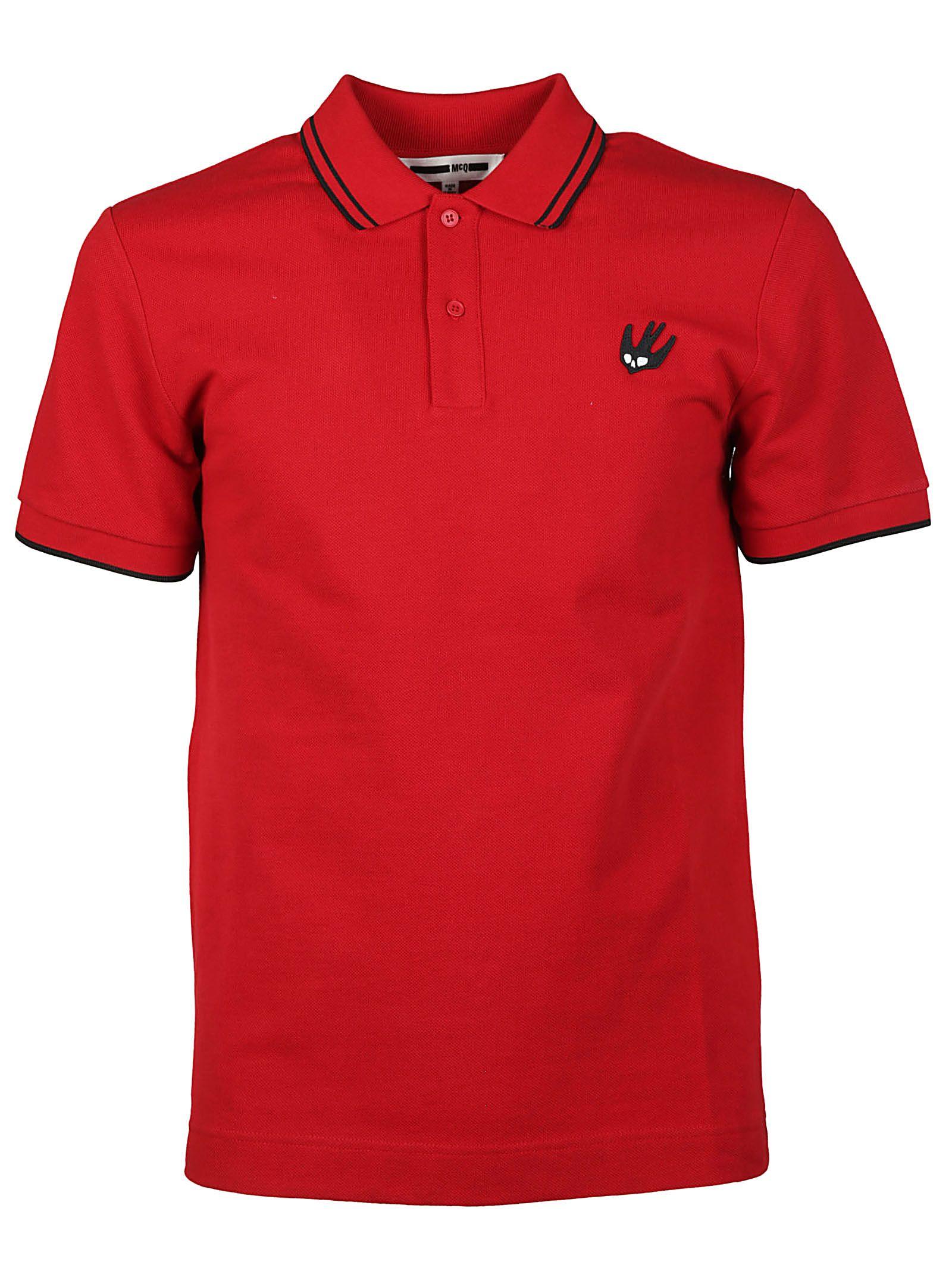Mcq Alexander Mcqueen Swallow Polo Shirt