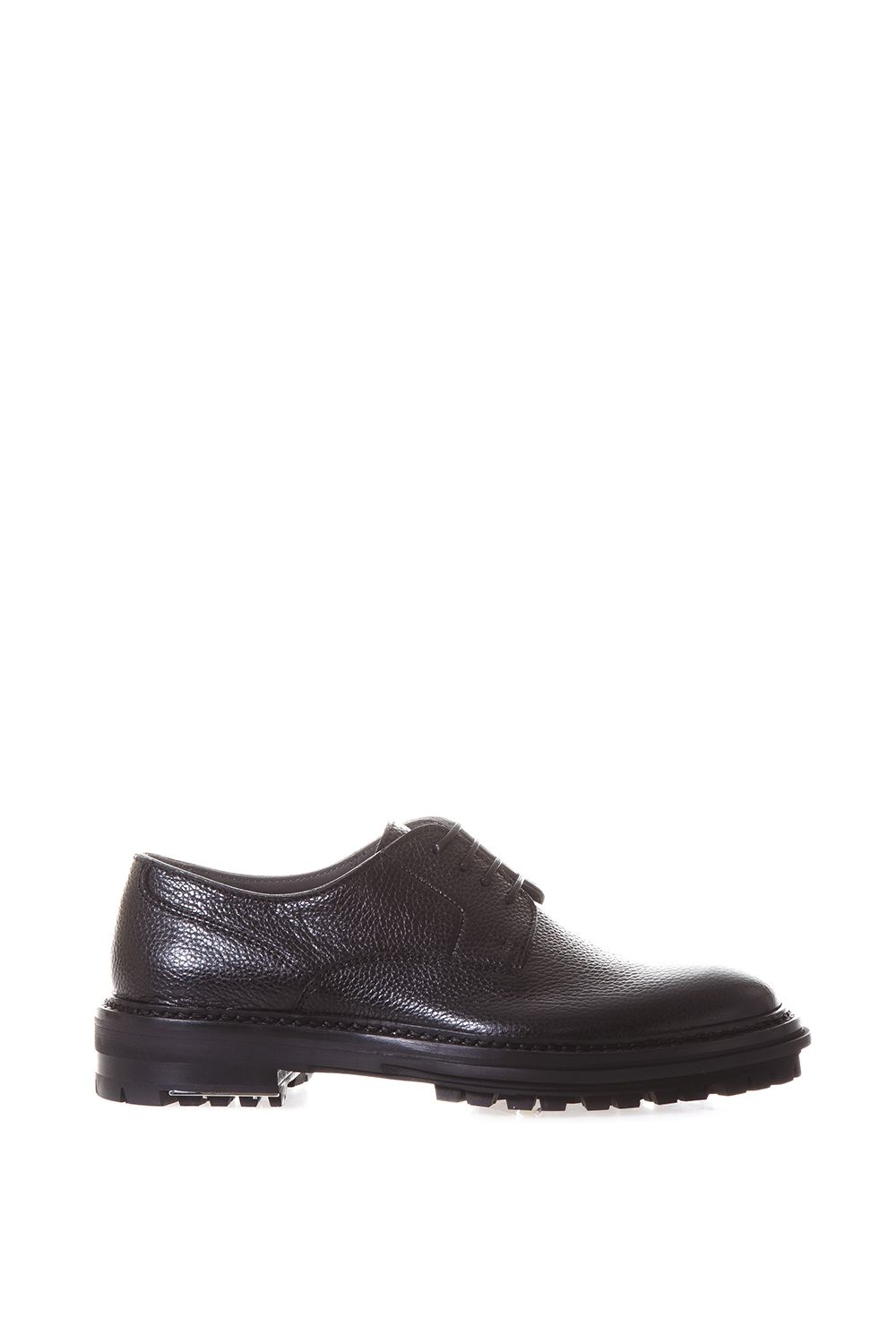 Lanvin Grained Leather Derby Shoes