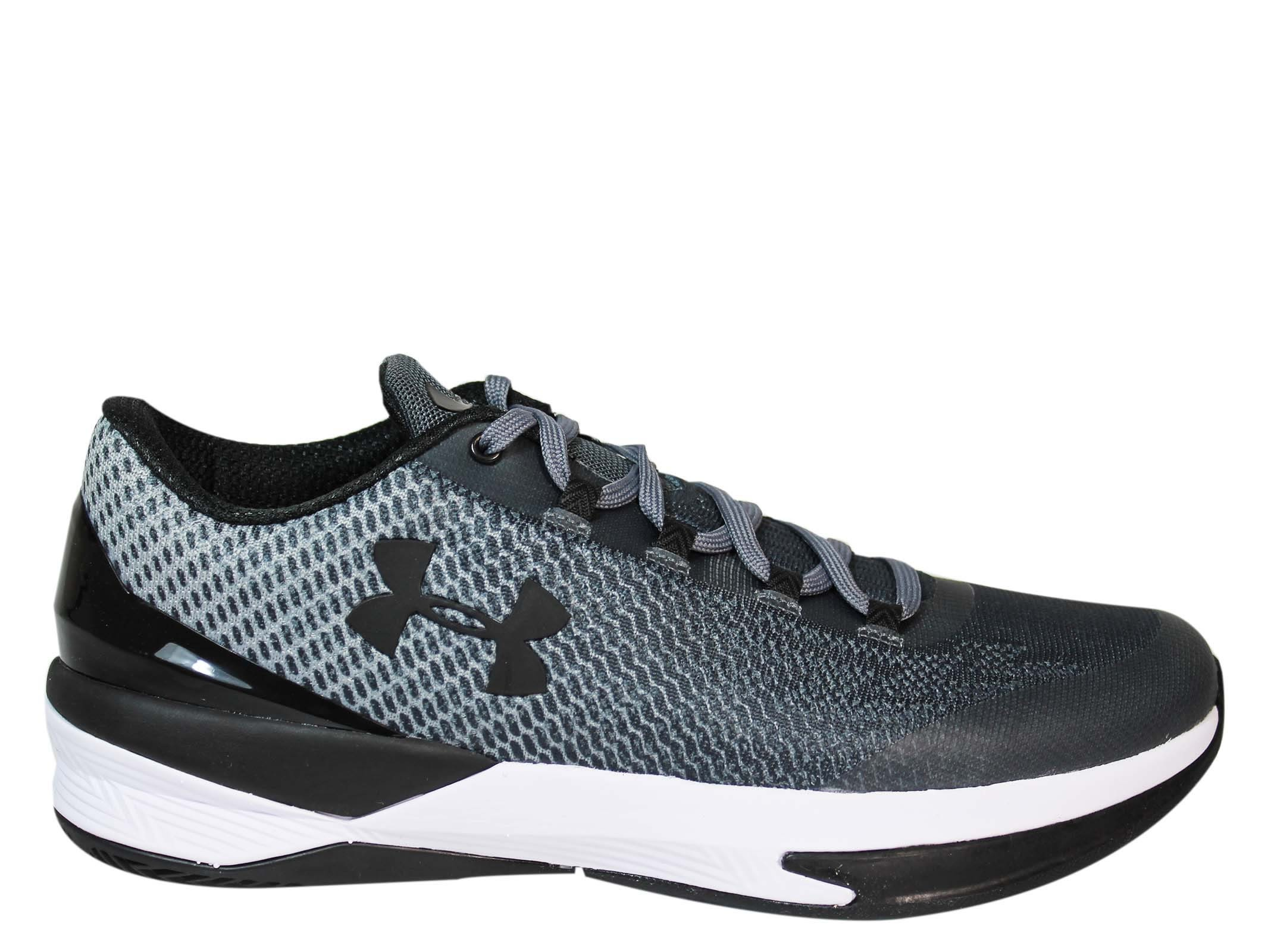 Under Armour Grey Charged Controller Low Sneakers