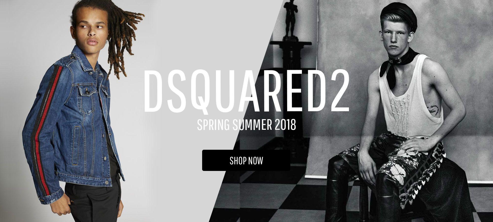 Dsquared2 Men – Spring Summer 2018