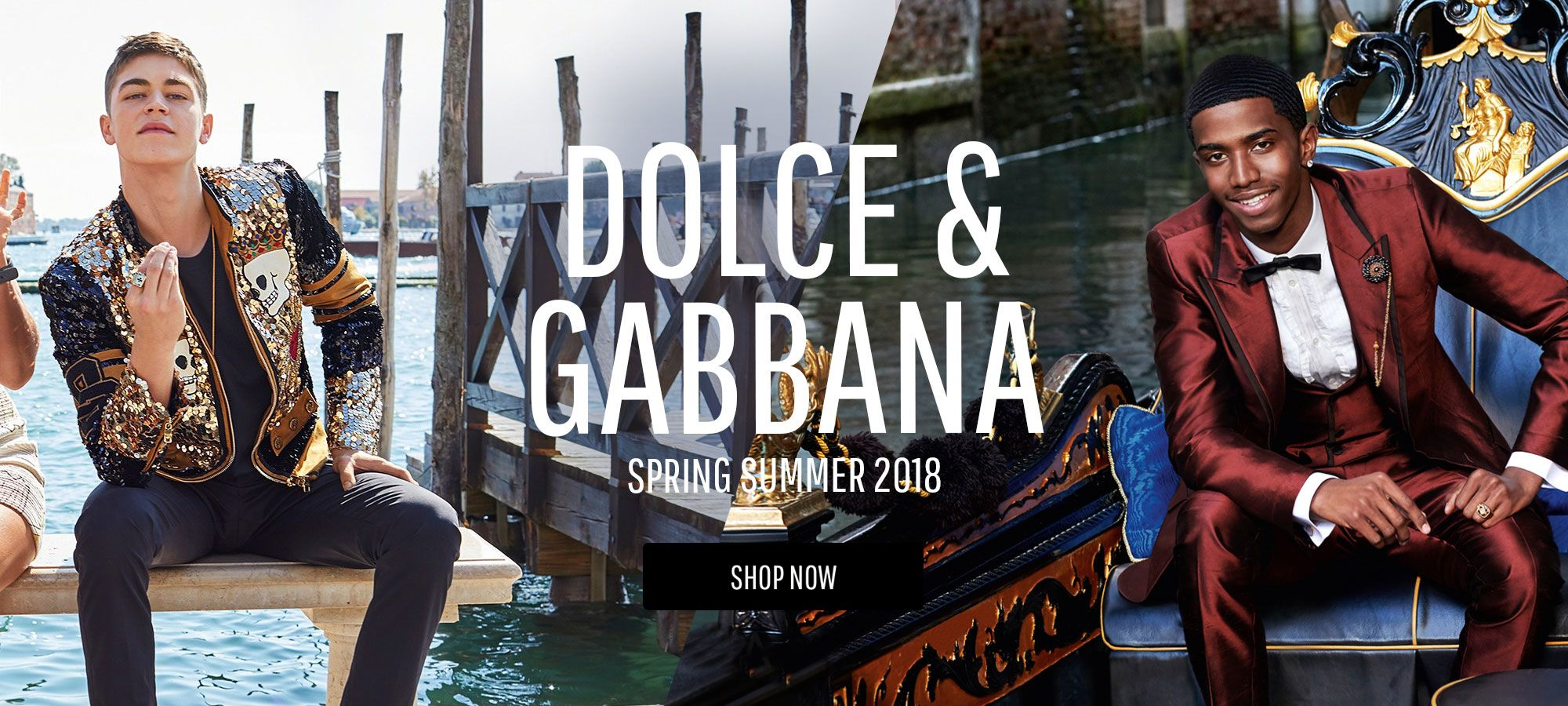 Dolce and Gabbana  Men – Spring Summer 2018