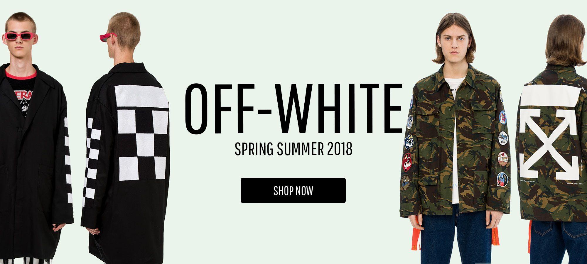 Off White Men - Spring Summer 2018