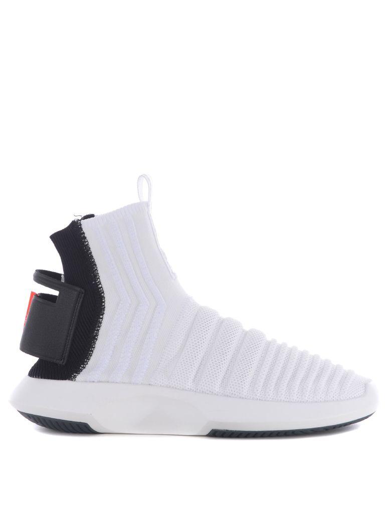 Sock Adv Primeknit Sneakers in Bianco/Nero