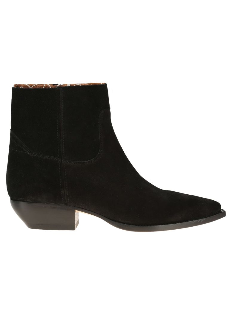 Lukas Boots In Suede, Black