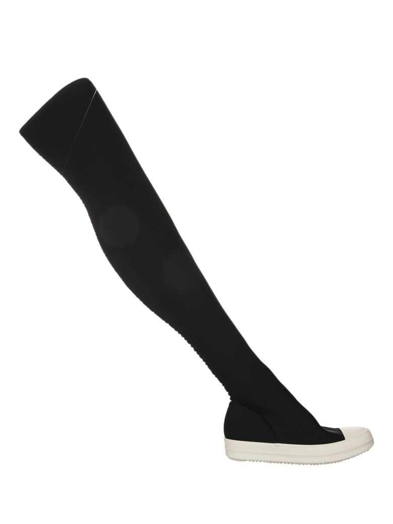 DRKSHDW STOCKING OVER-THE-KNEE SNEAKERS