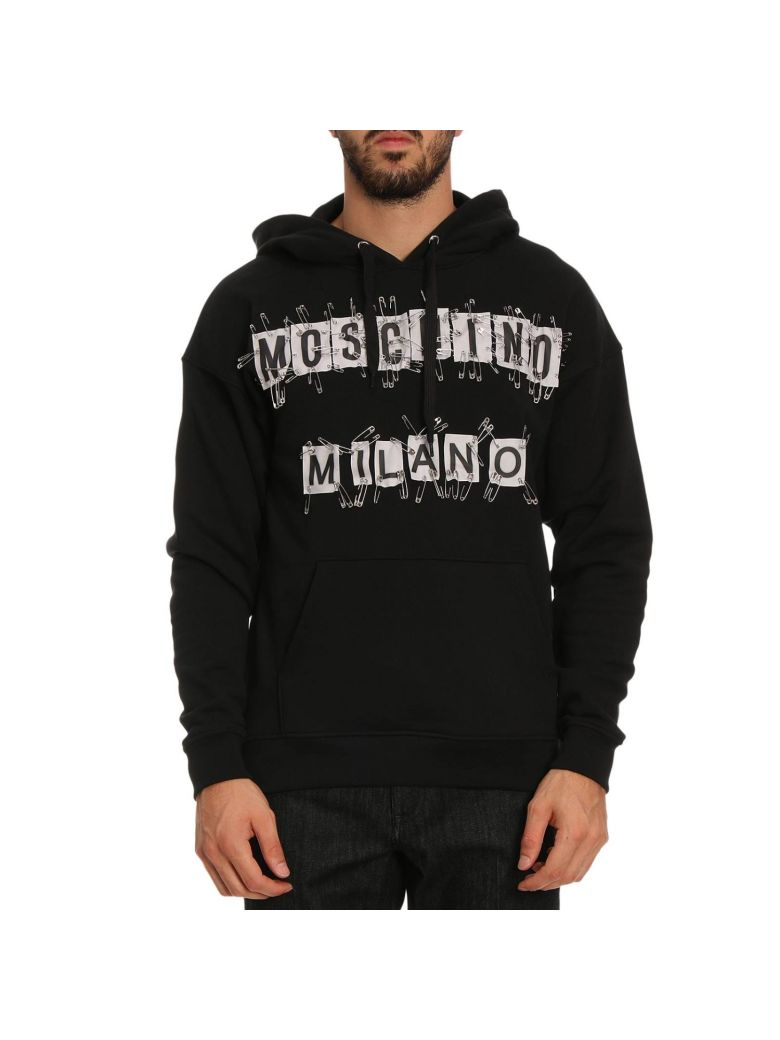 SAFETY PIN HOODIE