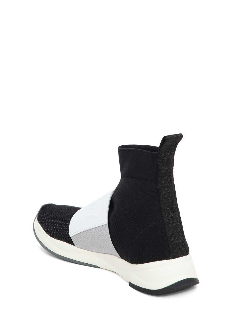 Balmain Balmain Socks Sneaker Nero Bianco Women S