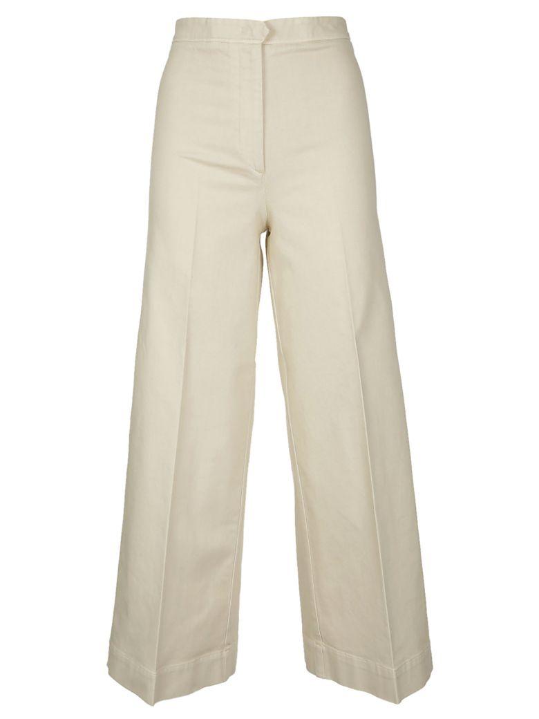 QL2 Quelledue Wide Leg Trousers in Natural
