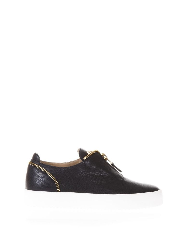 Zip Detailed Sneakers - IT43 / Black Giuseppe Zanotti pyzj5Uoy