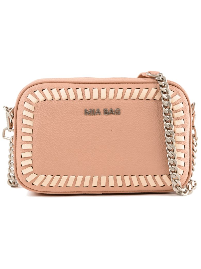 MIA BAG ZIPPED SHOULDER BAG