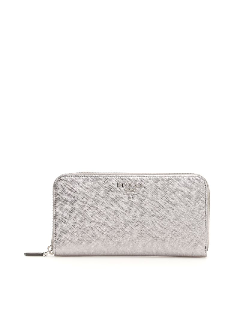 ZIP AROUND SAFFIANO WALLET