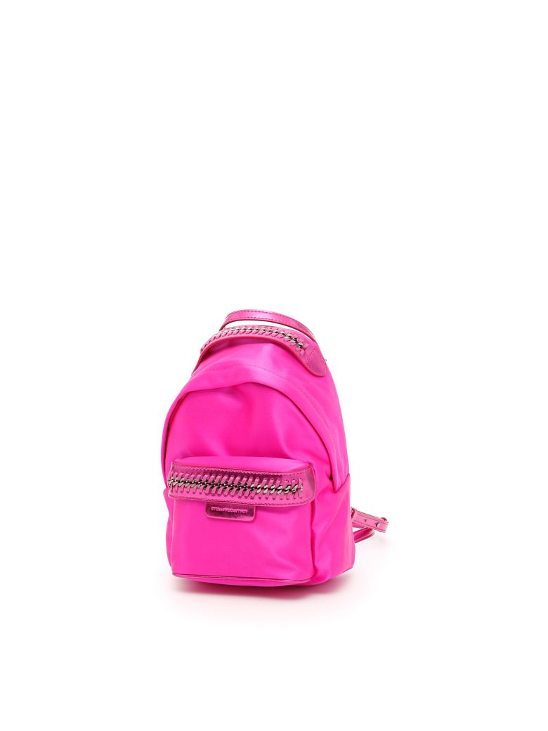 Mini Falabella Go Backpack in Pink