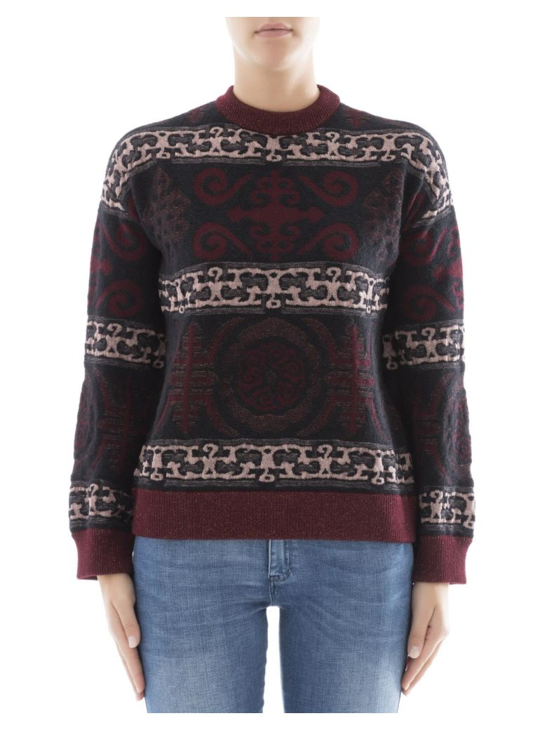 BALLANTYNE Multicolor Wool Sweatshirt in Multicolour