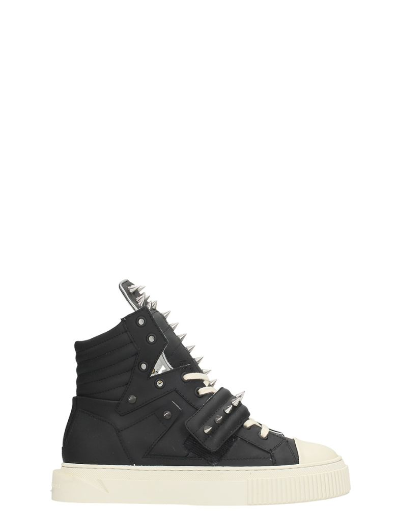HYPNOS BLACK RUBBER SNEAKERS