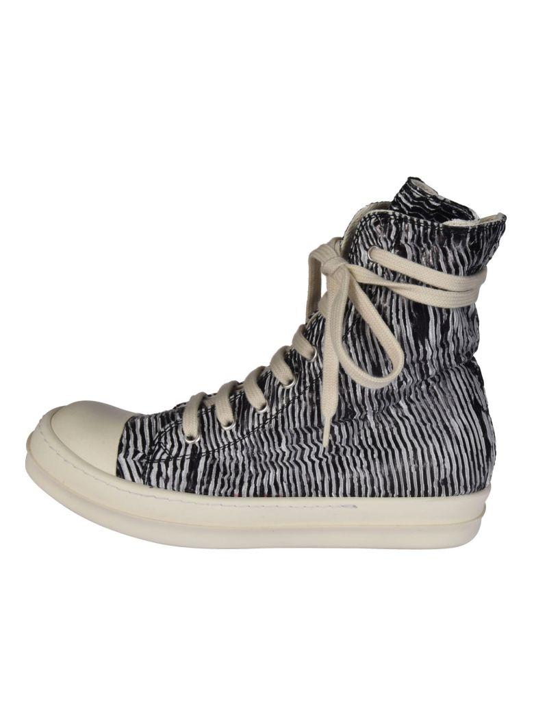 Drkshdw Sneakers DRKSHDW METALLIC ZIP HI TOP SNEAKERS