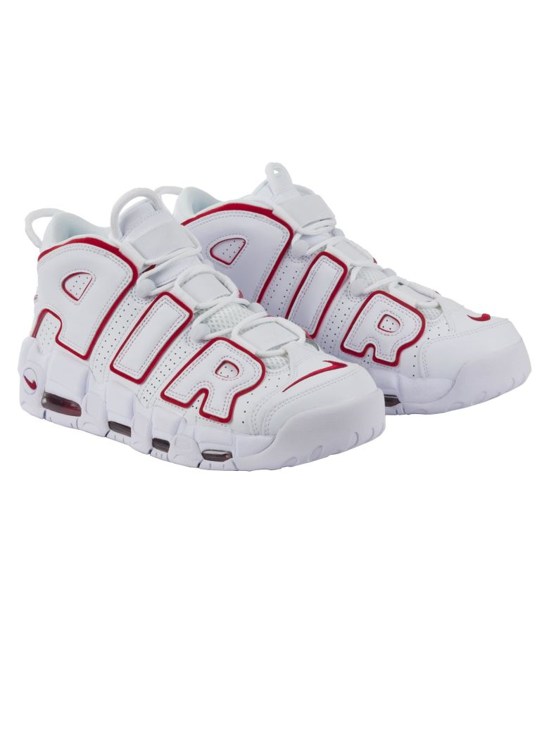 best loved 55c4d 9c1e1 NIKE AIR MORE UPTEMPO 96, BIANCO-ROSSO