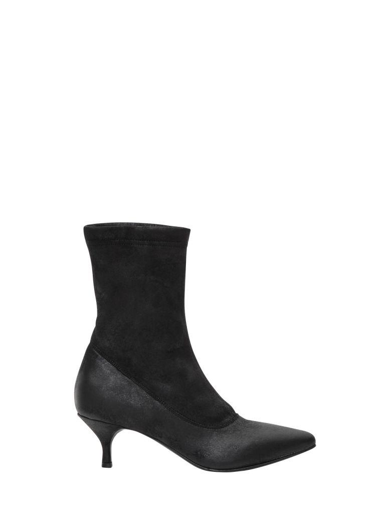Carla Jones Anke-Boots, Nero